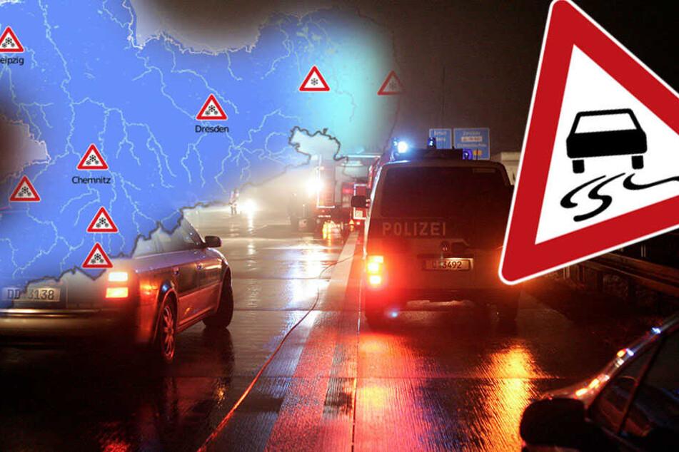 In der Nacht zu Mittwoch sollten Autofahrer besonders vorsichtig sein!