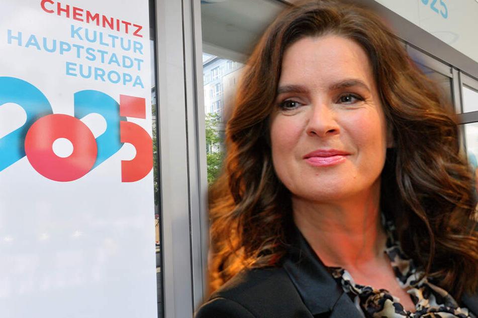 Olympiasiegerin setzt sich für Chemnitz 2025 ein: Katarina Witt will Bewerbung unterstützen