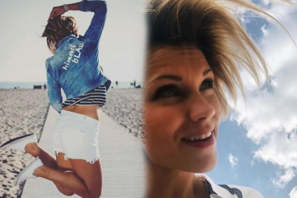 So lebensfroh zeigt sich die Sängerin auf ihrem Instagram-Profil.