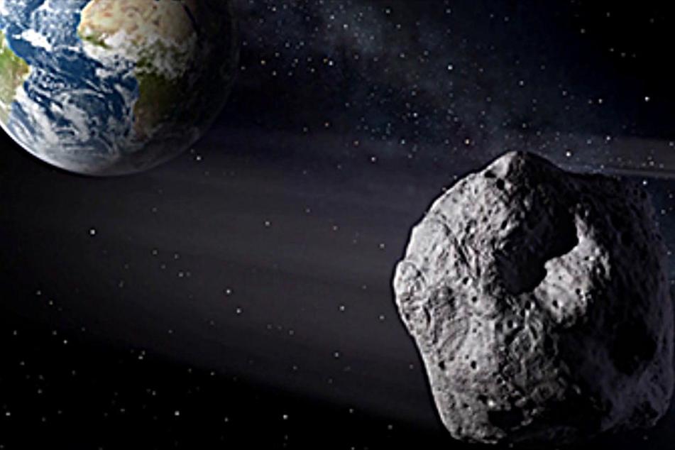 Erst vor wenigen Tagen entdeckt: Asteroid rast auf Erde zu!