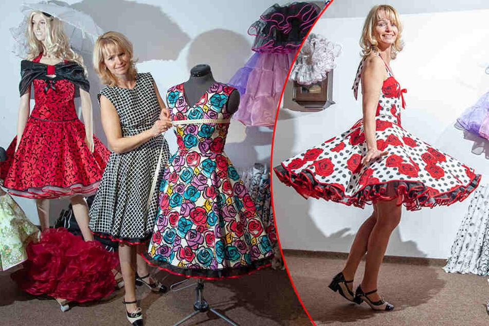 Chemnitz: Sie hat Kunden in ganz Europa: Sächsin fertigt Petticoat-Träume aus Tüll