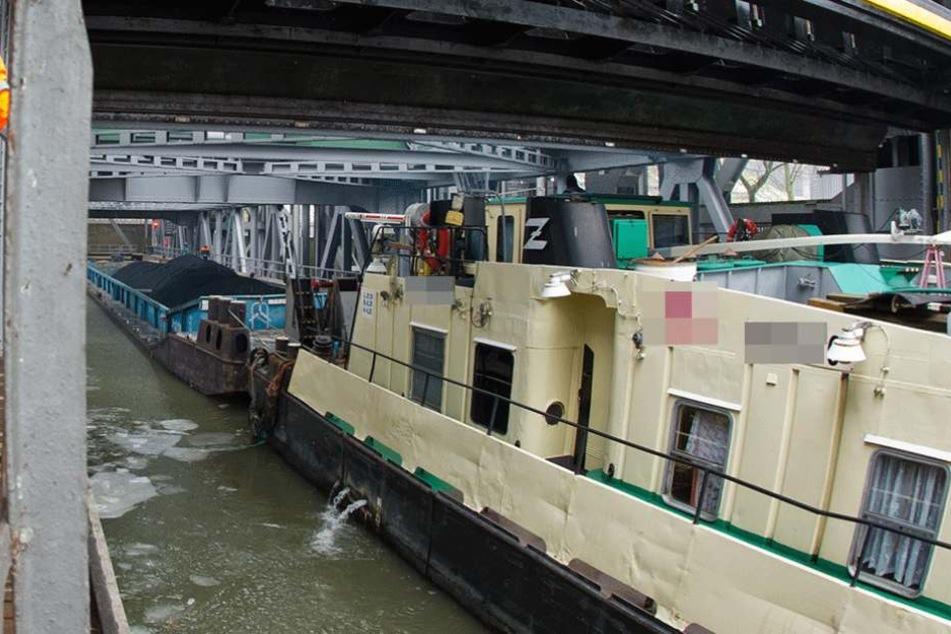 Die betrunkene Besatzung wurde am Schiffshebewerk Niederfinow erwischt (Symbolfoto).