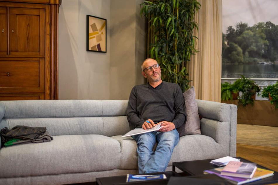 Sucht Hagen Moscherosch eine Dreh-Idee, geht er gern in die Kulissen und lässt sich dort inspirieren.