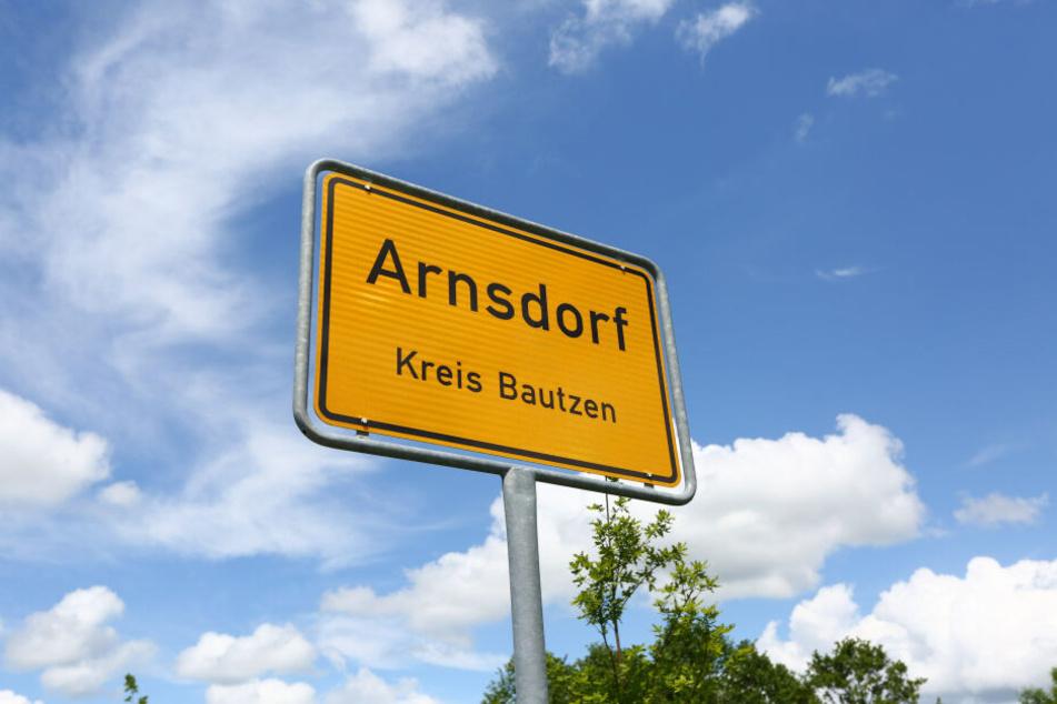 Arnsdorf im Kreis Bautzen.