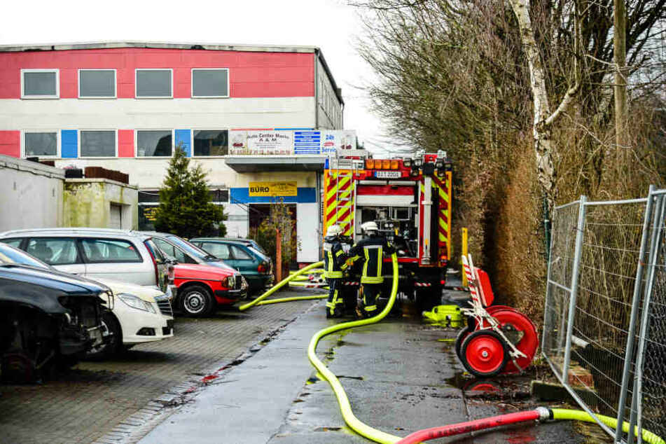 U-Haft: Legten drei Männer den Brand in der Autowerkstatt vorsätzlich?
