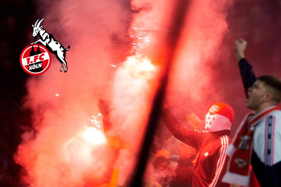 Nach Köln-Pleite gegen Hoffenheim: Fans prügeln sich, Mann stürzt über Balustrade
