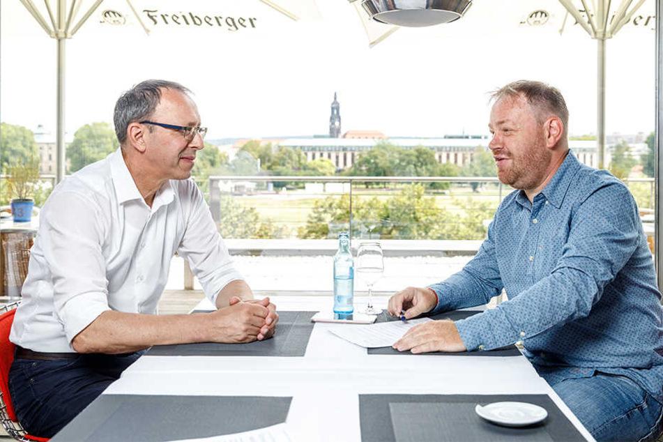 """""""Ich habe Sorge um unser Land"""": Der sächsische AfD-Spitzenkandidat Jörg Urban geht im TAG24-Interview davon aus, dass die AfD noch viele Jahre ordentlich Politik gestalten wird."""