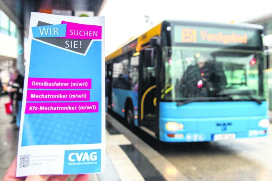 Ab Montag gilt der CVAG-Notfahrplan: Busse und Bahnen fahren seltener