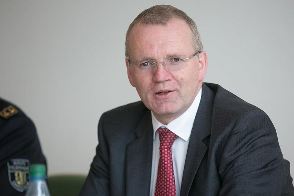 Dresdens Ordnungsbürgermeister Detlef Sittel (50, CDU).