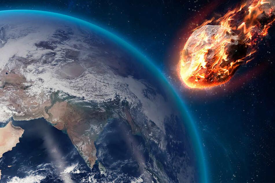 Wissenschaftler wollen Asteroiden auf Kollisionskurs mit der Erde bringen