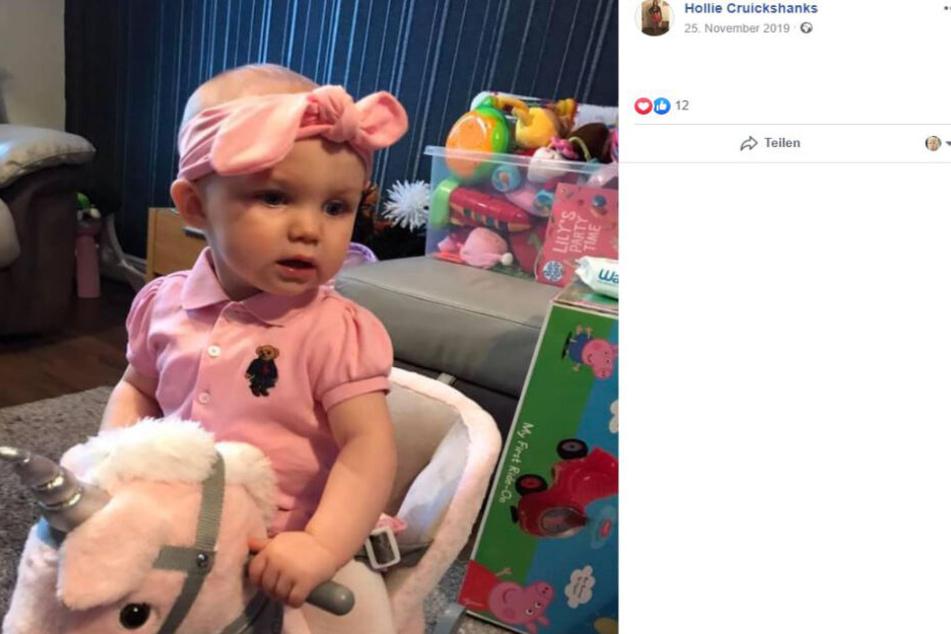 Die kleine Oarlah im November vergangenen Jahres. Die Einjährige hatte sich da bereits von ihrer Infektion vollständig erholt.