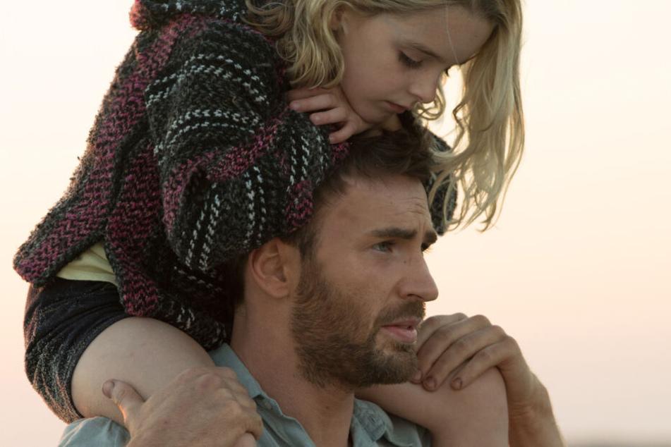 Chris Evans spielt im Film Frank, der seine hochbegabte Nichte Mary (Mckenna Grace) bei sich aufnimmt.
