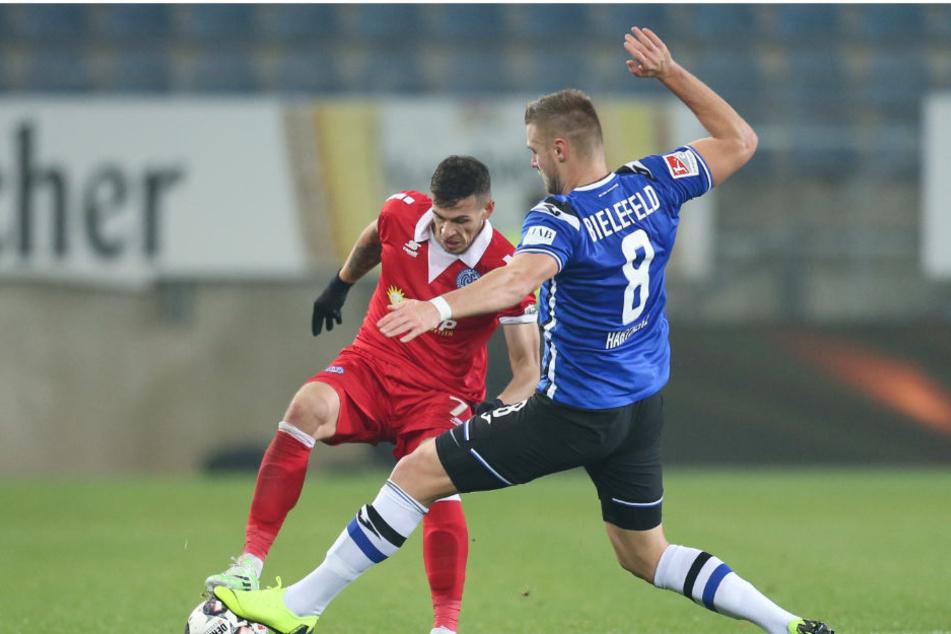 Gegen seinen alten Verein will Florian Hartherz unbedingt gewinnen.