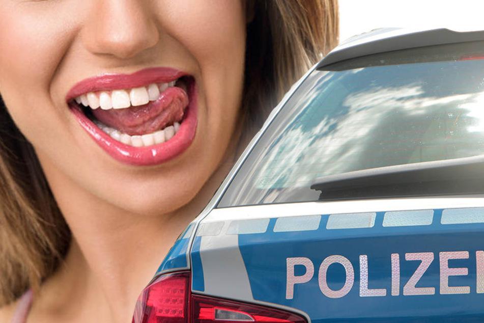 Die 36-Jährige wurde nach ihrer Beiß-Attacke auf den Autositz festgenommen. (Symbolbild)