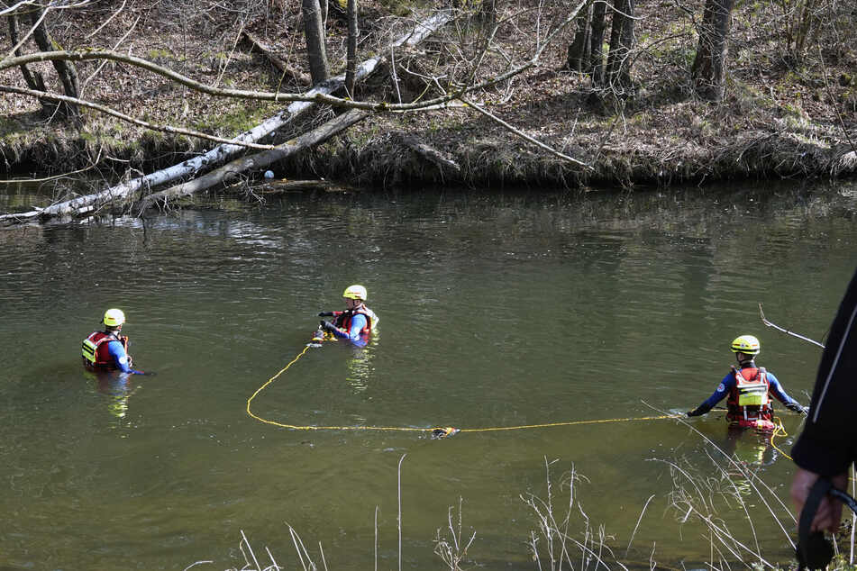 Erzgebirge: Leiche im Fluss gefunden