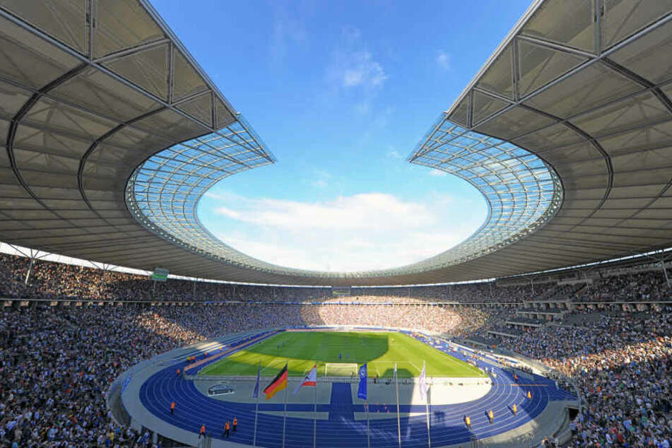 Das Berliner Olympiastadion ist die derzeitige Heimstätte von Bundesliga-Klub Hertha BSC.