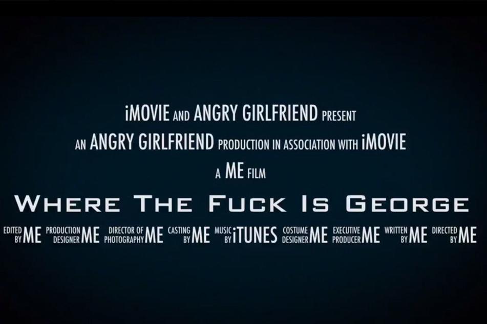 """Ihr Trailer erhielt den Namen """"Wo zum Teufel ist George""""."""