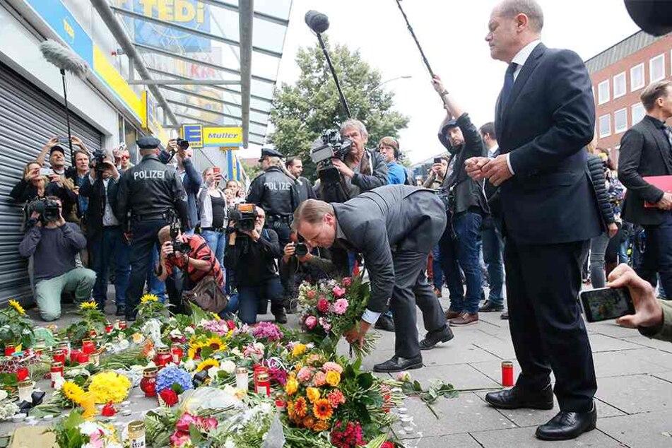 Messerangreifer von Hamburg sitzt jetzt in U-Haft