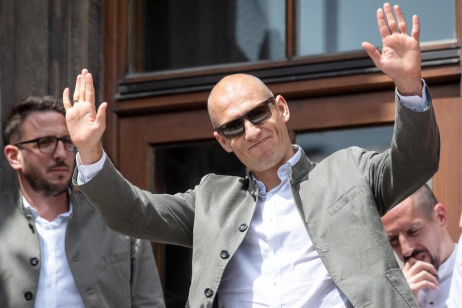 Arjen Robben hat mit dem FC Bayern München zahlreiche Erfolge gefeiert.