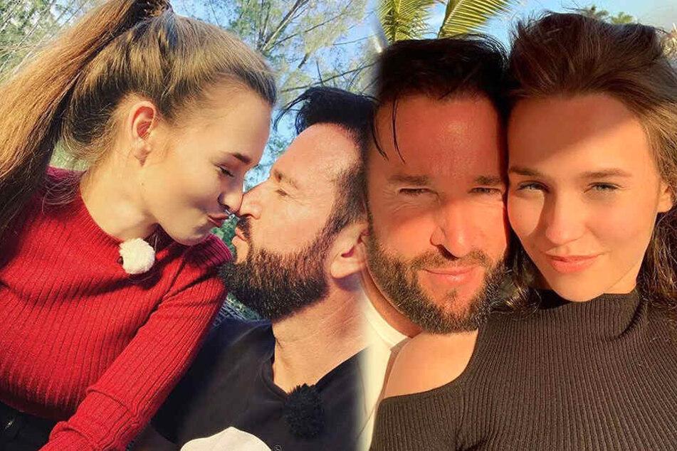 Laura Müller (18) und Michael Wendler (46) sind glücklich verliebt wie am 1. Tag und zeigen sich so auch in den sozialen Medien.