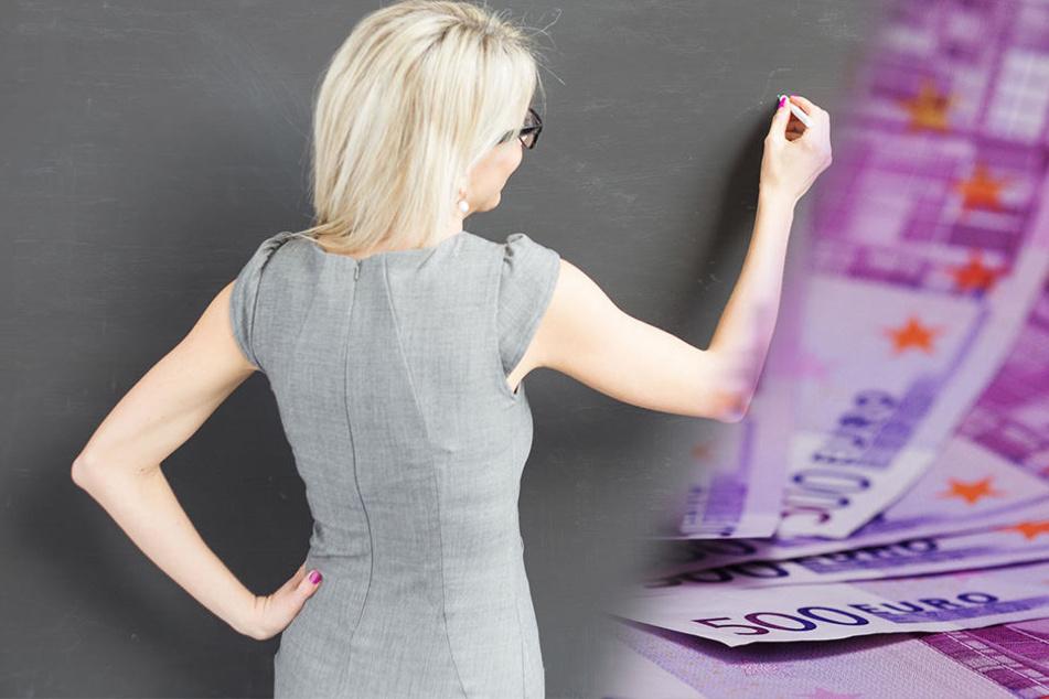 Eine Lehrerin aus Borgholzhausen hat 77.000 Euro zu viel Lohn bekommen. (Symbolbild)