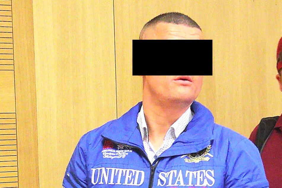 Räuber Marcel P. (35) muss für drei Jahre hinter Gitter.
