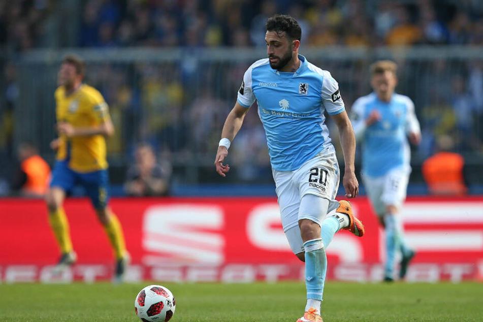 Der DFB ermittelte gegen Efkan Bekiroglu vom TSV 1860 München.