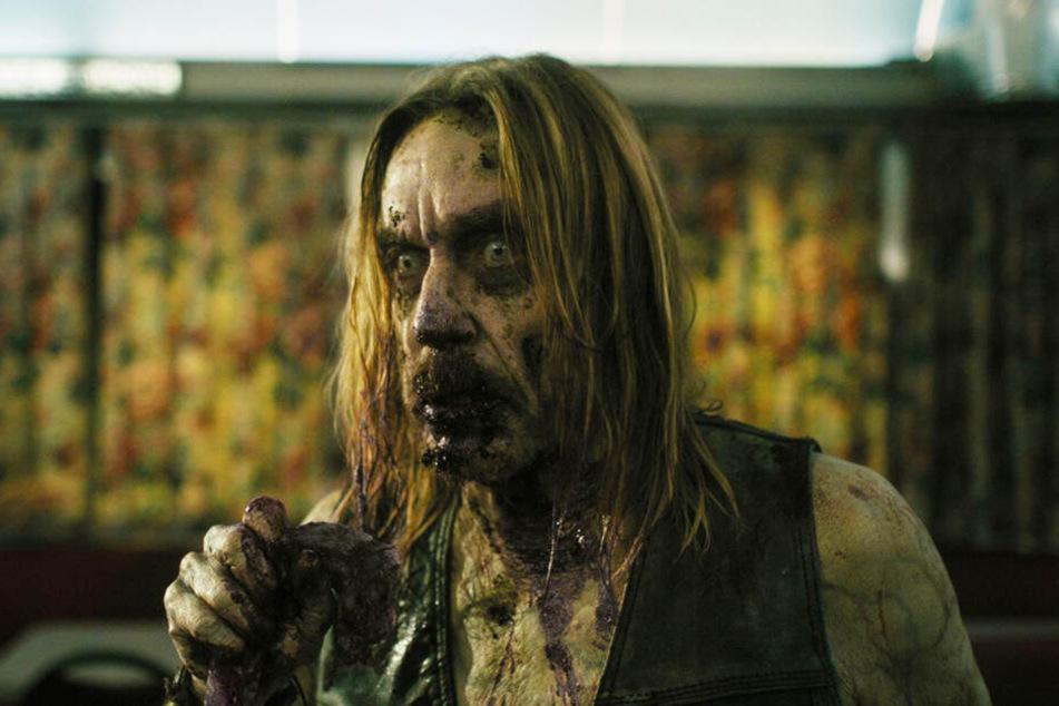 Iggy Pop hat als Zombie die ein oder andere lustige, aber auch eklige Szene.