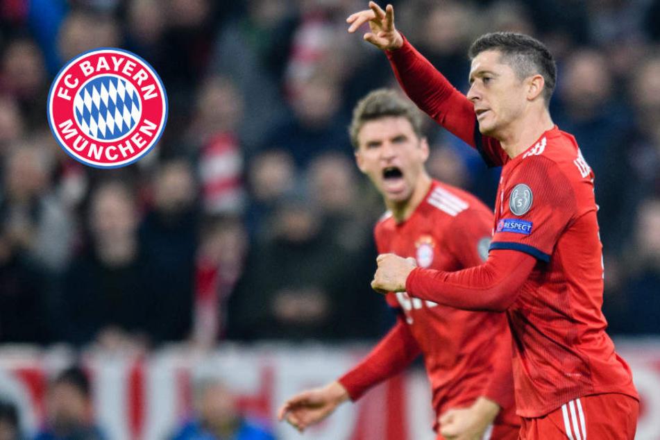 Doppelter Lewy! Bayern-Sieg bei Generalprobe vor Kracher gegen Dortmund
