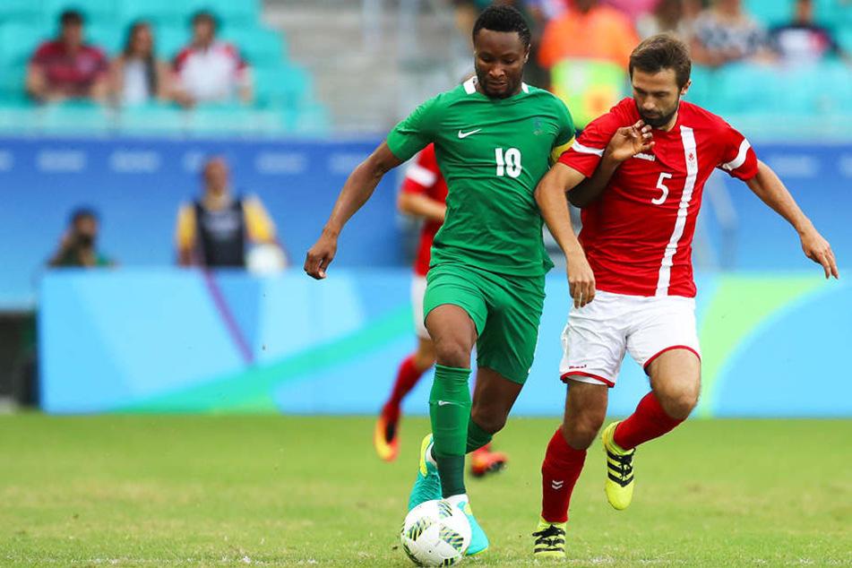 Spielte, obwohl sein Vater in den Händen von Entführern war: Nigerias John Obi Mikel.