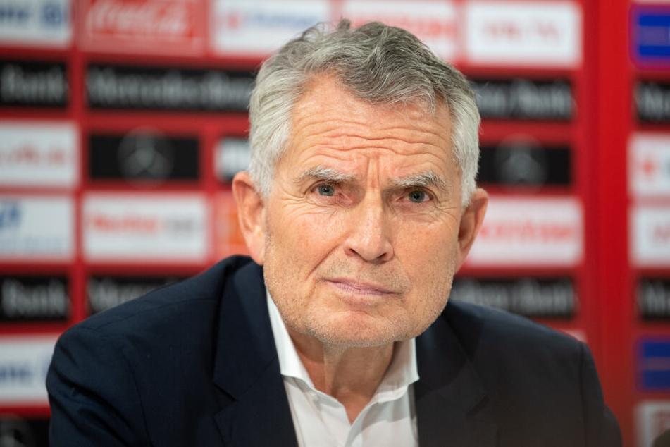 Wolfgang Dietrich, Präsident des VfB Stuttgart.