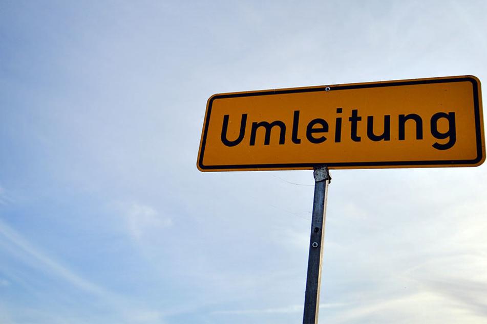 Am Samstagnachmittag müssen Autofahrer im Süden und Zentrum Leipzigs mit Verkehrseinschränkungen rechnen.
