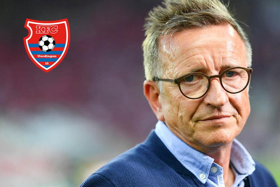KFC Uerdingen feuert Norbert Meier: Nach nur sieben Spielen ist wieder Schluss!