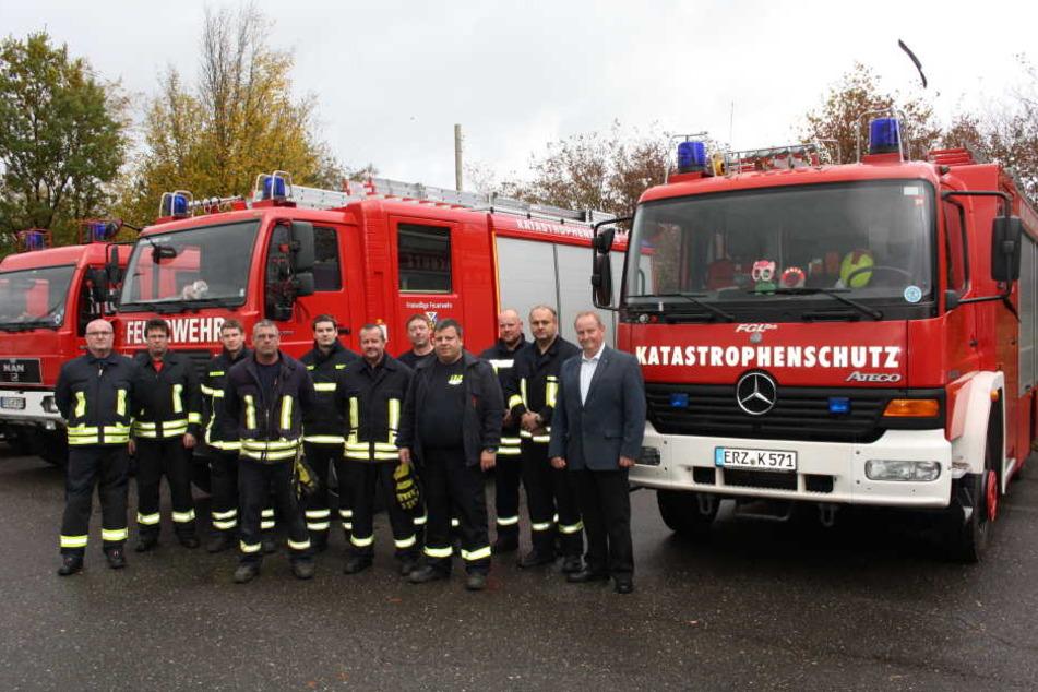 Die Feuerwehr trainiert jetzt auf dem Sachsenring