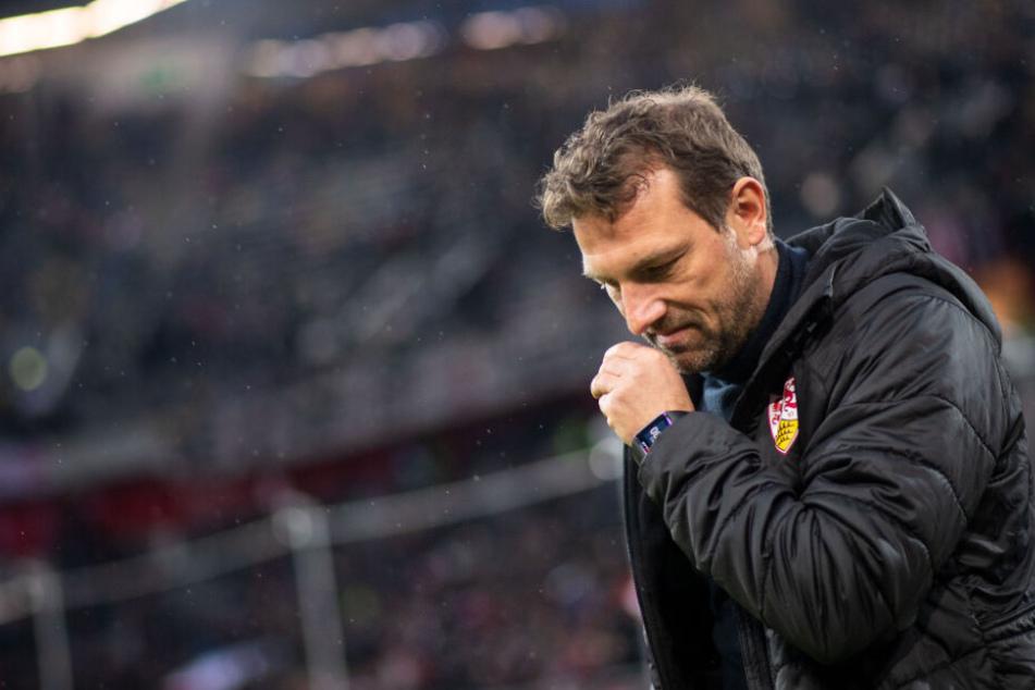 Hat seinen Job zumindest bis zum nächsten Bundesligaspiel sicher: VfB-Trainer Markus Weinzierl.