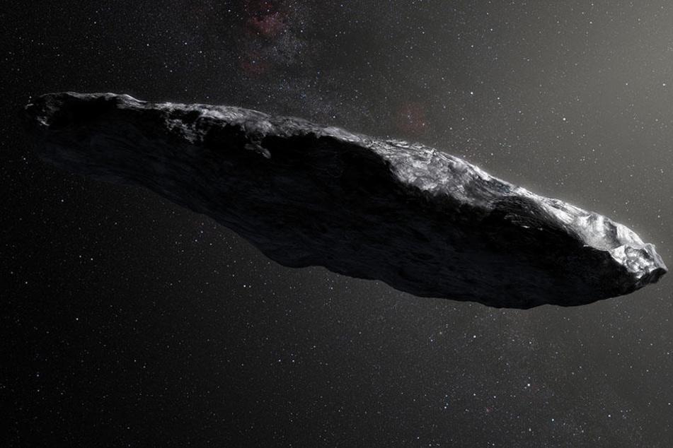 Mysteriöses Objekt im Weltall ist kein Asteroid!