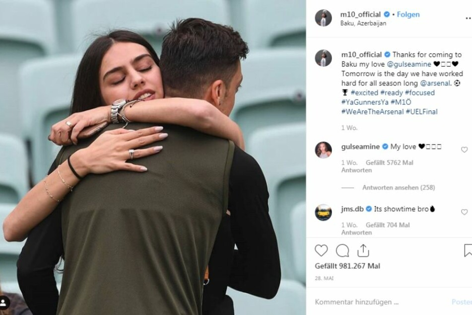 Mesut Özil heiratet am Freitag die Schönheitskönigin Amine Gülşe in Istanbul.