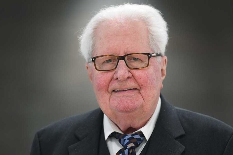 Ex-SPD-Chef Hans-Jochen Vogel in Klinik