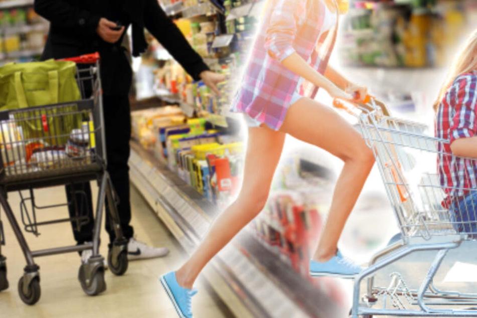 Junge Frauen lassen sich im Supermarkt einsperren: Daran haben sie bei der Aktion nicht gedacht