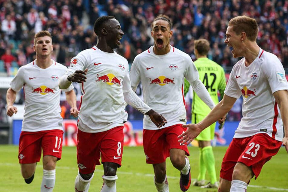 Die Leipziger sind in dieser Saison noch ungeschlagen.