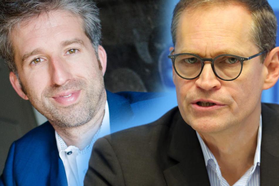 Nach Palmers Berlin-Watsche: So legt Bürgermeister Müller nach
