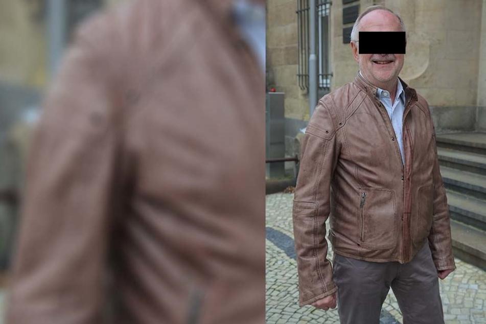 Uwe Z. (66) nahm den Prozess mit Humor, saß lachend auf der Anklagebank.