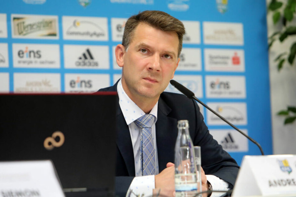 CFC-Präsident Andreas Georgi