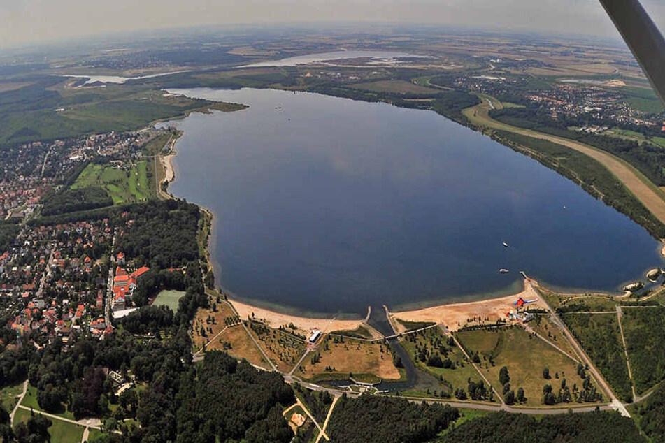 """Leipziger Neuseenland: Mit der """"Markkleeberger Wasserschlange"""" wird es erstmal nichts."""