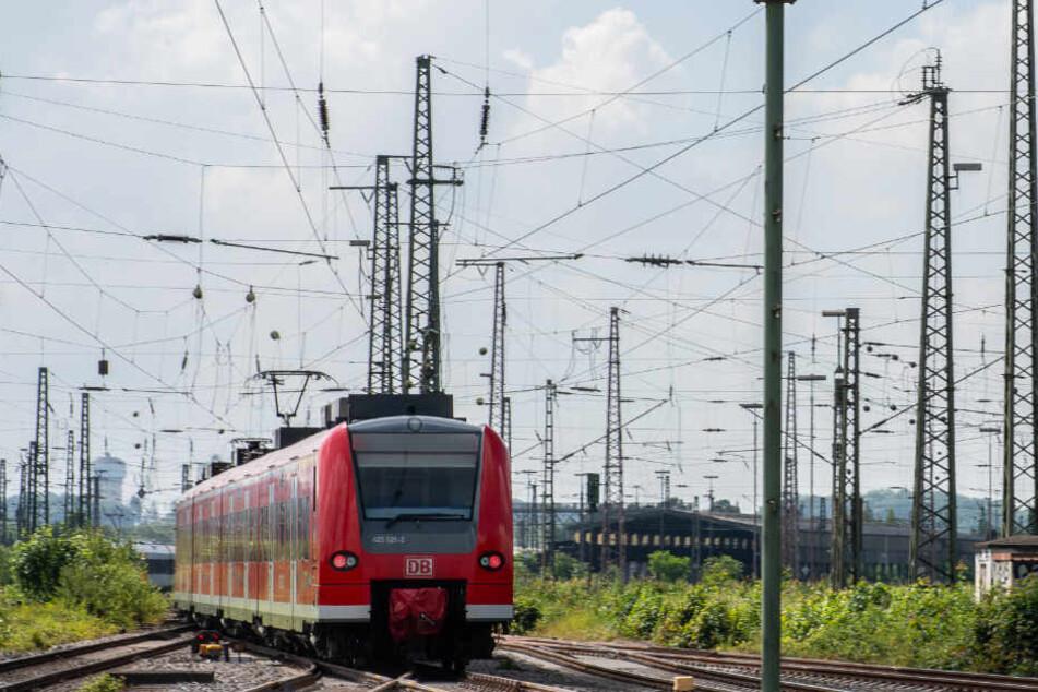 Wegen eines Schienenbruchs mussten einige Regional- und Fernzüge umgeleitet werden. (Symbolbild)