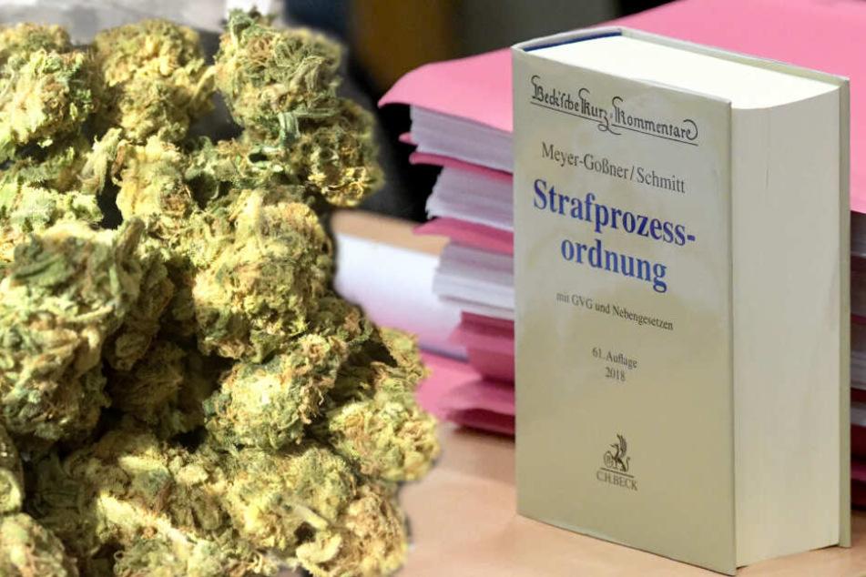 Hamburg: Zäher Cannabis-Prozess: Zweiter Anlauf und immer noch kein Ende in Sicht