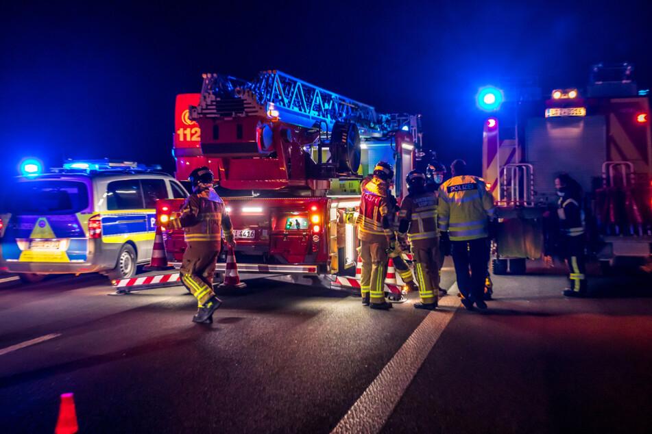 30-Jähriger zu Fuß auf Fahrbahn unterwegs: Neue Details zum tödlichen Unfall auf A38