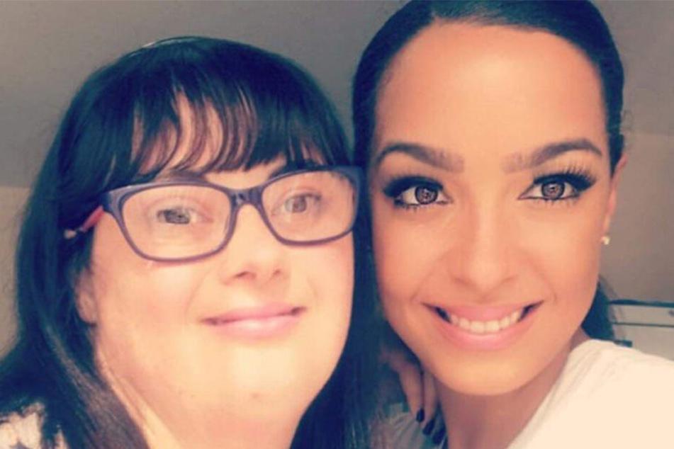 Claire Dutton (32) und Amber McLeod (25) auf einem Facebook-Selfie.