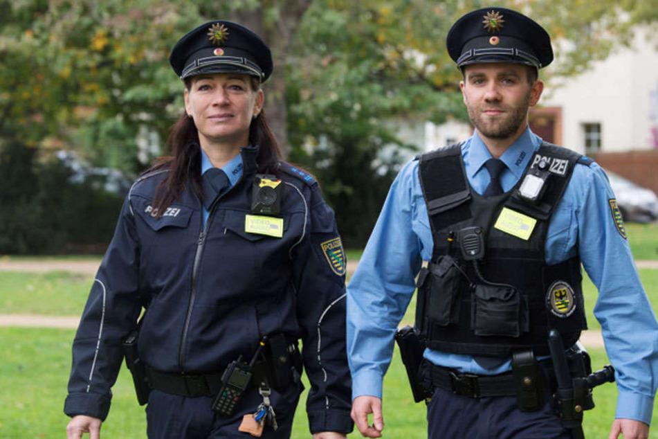 Mit Bodycam ausgerüstet sind nach den Leipziger Polizisten nun auch die Dresdner der Reviere Nord und Mitte.