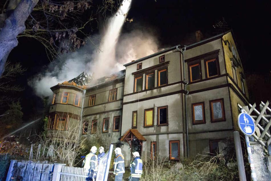 Mehrere Feuerwehren waren bei dem Brand im Einsatz.